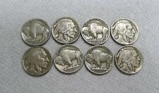 Lot of 10 FULL DATE Buffalo Nickels From the 1930s! See Pics and Description!