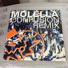 1993# VINTAGE SINGLE VINYL VINILE MOLELLA CONFUSION REMIX RMX