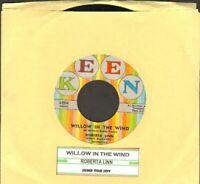 Linn, Roberta - Willow In The Wind/Jump For Joy Vinyl 45 rpm Record Free Ship