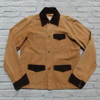 Vintage 90s Carhartt Western Chore Work Jacket Union Made in USA Wip Canvas 42