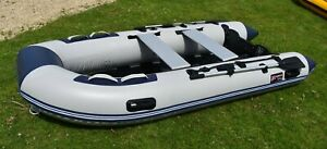 330 SIB with 6HP Outboard - Inflatable Boat - Dinghy/Sib/Rib 3.3m - UK Stock!