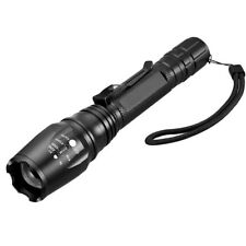 Shadowhawk 15000LM T6 5Modes 18650 LED Flashlight Zoomable Military Torch Lamp G