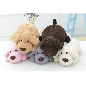 Home Room Car Hotel Tissue Box Cover Plush Puppy Paper Napkin Holder Case