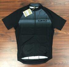 Giro Men's Chrono Sport Jersey Size Medium Black Gray New