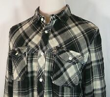 Men's I Jeans by Buffalo L/S Flannel Shirt XXL Actual XL Good Cond! Intl Yes!