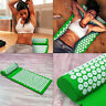 Massage Acupressure Mat With Pillow Sit Lying Mats Cut Pain Stress Up