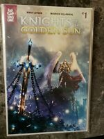 KNIGHTS OF THE GOLDEN SUN #1 CBSI Sealed Variant Ltd #128 Of 250 NM