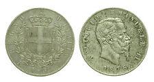 pcc1412) Regno Vittorio Emanuele II  ( 1861-1878 ) lire 5 scudo 1878 NC
