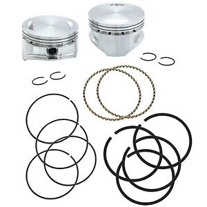 S&S Cycle - 92-1411 - Forged Piston Kit for 113ci. Motor