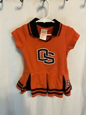Oregon State Beavers Girls 18 Months Cheerleader Outfit Orange- kid athletes