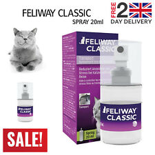 FELIWAY CLASSIC SPRAY 20ml Spray; Calming, Stress and Travel Relief For Cats
