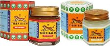 2X30g Tiger Balm Pain Relief Ointment Massage RedWhite Muscle Rub Aches Backacke