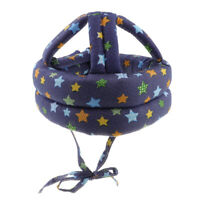 Walking Baby Safety Helmet Head Protect Hat Adjustable Toddler Cap Star B