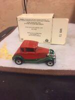 Matchbox Car - Ford Model A - Boxed