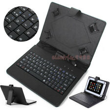 US For Amazon Kindle Fire 7 / HD 7 8 10 / HD 7 Leather Stand Case Cover Keyboard