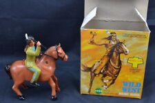 Echo Galloping Action Wild West Riding Horse Hong Kong Works In Original Box