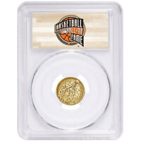 2020-W UNC $5 Gold Basketball Hall of Fame PCGS MS70 FS HOF Label
