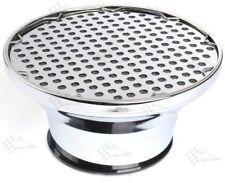 "Chrome Air Cleaner Velocity Stack 8-3/4"" Dia x 4-1/4"" haute-Filtre lavable"