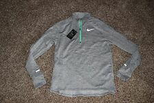 Mens Nike Dri Fit Element Sphere Thermal 1/2 Zip Running Shirt Large NWT 683906