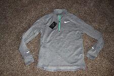 Mens Nike Dri  Element Sphere Thermal 1/2 Zip Running Shirt Large NWT 683906  ``
