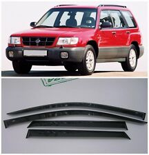 For Subaru Forester 1997-2002 Side Window Visors Sun Rain Guard Vent Deflectors