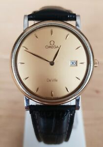 Beautiful Omega DEVILLE gold Plated, Not Working