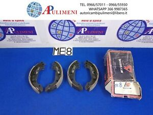 84471 SERIE GANASCE FRENO POSTERIORE FORD FIESTA 76->83 (177,8X32 mm) BROMS CAR