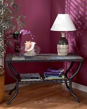 "Ashley Furniture Sofa Table Antigo Black T233-4 Table 48""W x 20""D x 29""H NEW"