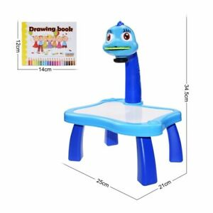 Children LED Projection Learing Drawing Board