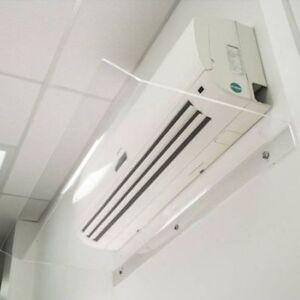 Deflettore deflettori Aria -Condizionatori 25 x 80 Protezione Climatizzatori .