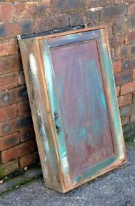 shabby chic, Rustic, Country, Wooden, Timber wall Cupboard, Cabinet