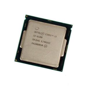 Lot of 10 Intel 6th Gen. Core i3-6100 3.7GHz CPU Processor SR2HG Socket 1151