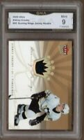 GMA 9 Mint SIDNEY CROSBY 2005/06 Fleer Ultra ROOKIE GAME JERSEY Card PENGUINS!
