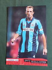 Gary McAllister-Coventry City -1 página Corte/recorte de imagen