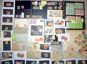 Collection of Possession Stamps From Canal Zone Philippines  Ryukyu and Others