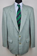 HUGO BOSS Vintage Mint Color Men Blazer UK 42L Suit 102 Jacket Coat Gr. 52L Long