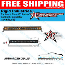 "Rigid Industries Radiance Plus 30"" Amber Backlight Light Bar 230043"