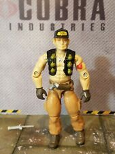 GI JOE ~ 1987 STEAM ROLLER ~ UNCRACKED ELBOWS ~ 100% & COMPLETE