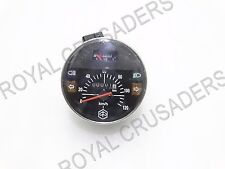 NEW VESPA PX200 SPEEDOMETER 120KMPH BLACK #VP269 (CODE-7206)