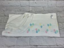 Baby Morgan Cozy Balloons Thermal Waffle Weave Vtg Baby Blanket 100% Cotton