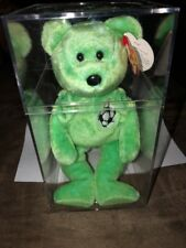 TY BEANIE BABY VERY RARE KICKS BEAR,ORIG. COLLECTIBLE WITH TAGS ERRORS.1998