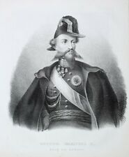 Viktor Emanuel II König Italien Sardinien-Piemont Orden Uniform Großkreuz Italia