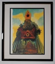 "Original 1967 Salvador Dali Biblia Sacra ""Arca fœderis"" COA"