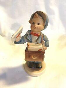 Postman Goebel Hummel Mailman Figurine #119 TMK1? U.S.Zone Germany Vintage