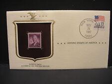 HISTORIC STAMPS OF AMERICA - SCOTT#937 FDC - ALFRED E. SMITH  (R3082)