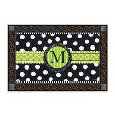 MatMAtes Frolic Monogram M Doormat