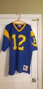 100% Authentic MITCHELL & NESS 1977 LA Rams JOE NAMATH JERSEY SIZE 52 XXL