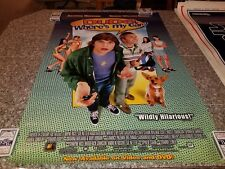 ORIGINAL 2001 MOVIE POSTER 1 SHEET  DUDE WHERES MY CAR DVD / VIDEO VERSION