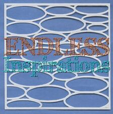"6""x6"" Endless Inspirations Stencil, Ovals - Free US Shipping"