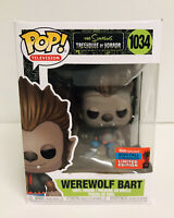 Funko POP Simpsons Werewolf Bart #1034 Treehouse Of Horror NYCC Shared Exclusive